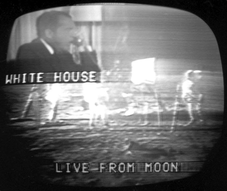 1969- Live TV From the Moon