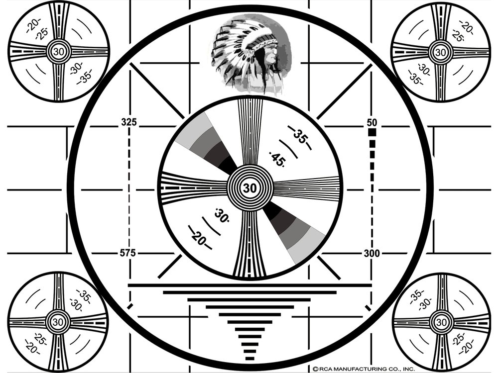 1939-  Indian Head Test Pattern