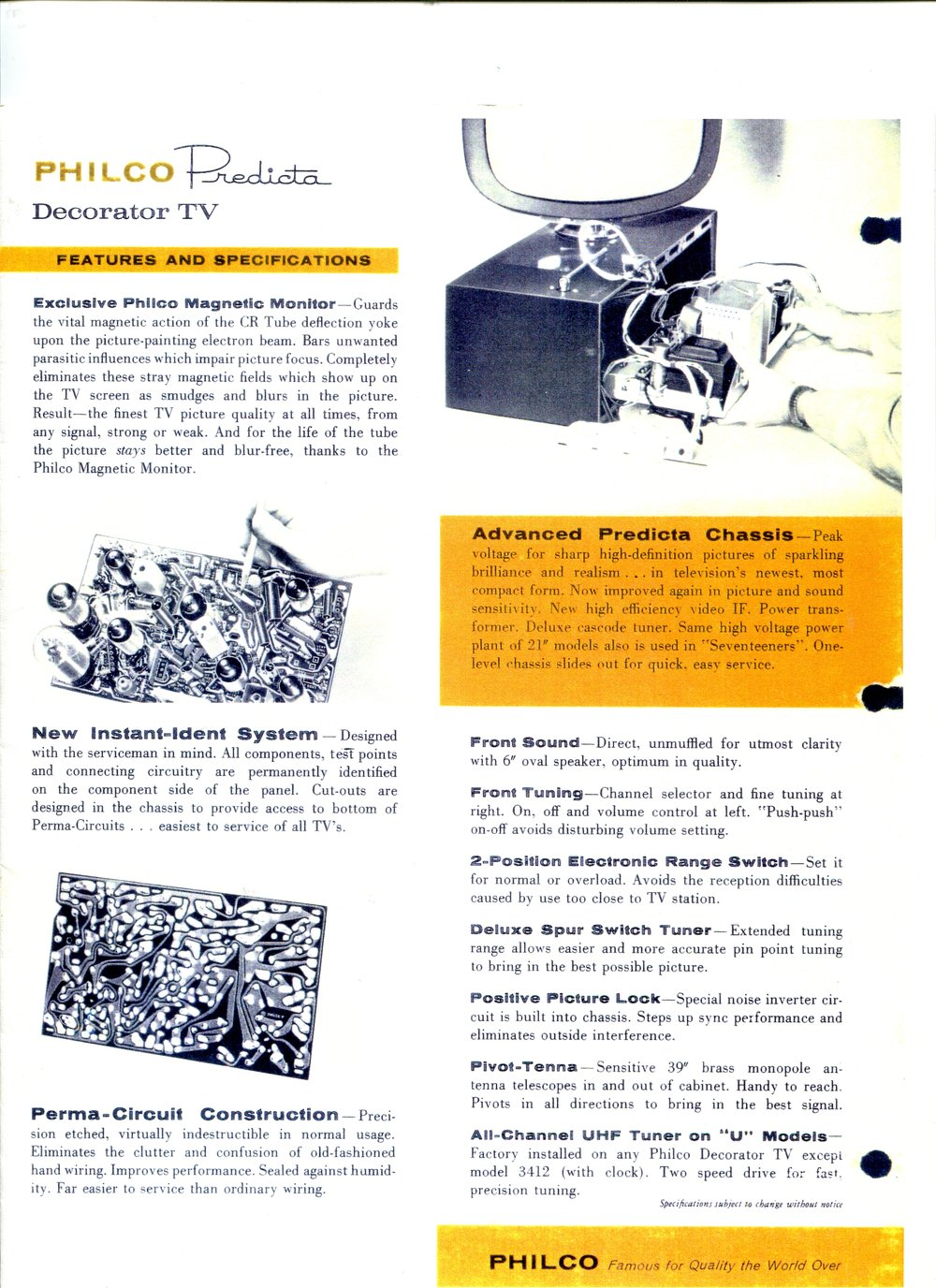 Predicta The History Of Television Video If Circuit Tv Philco Book 008