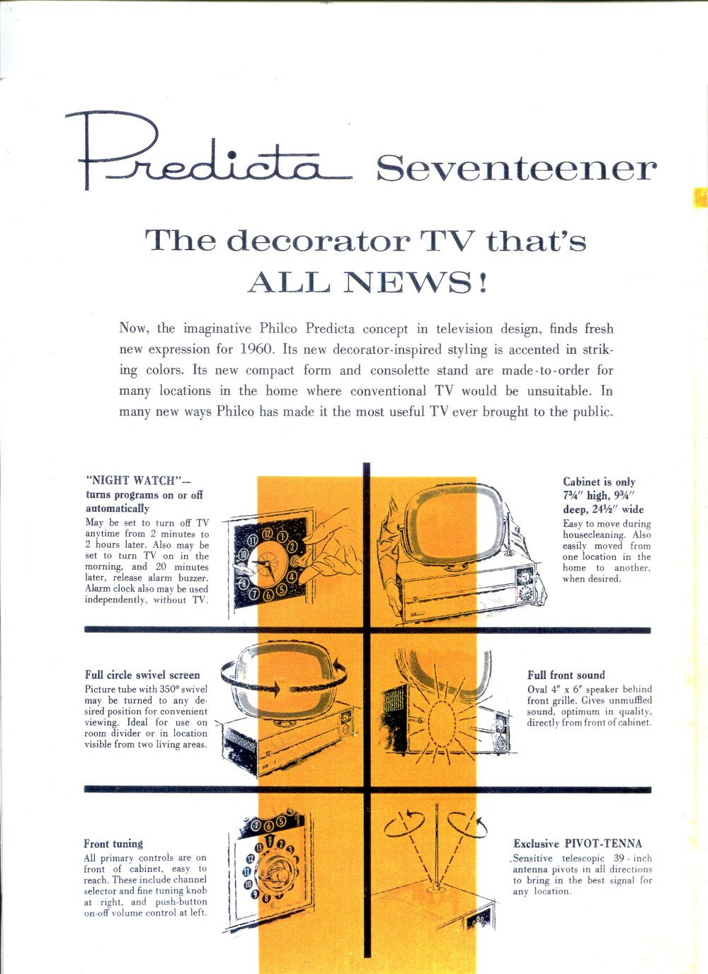Predicta Ads The History Of Television Easy Novel Buzzer Philco Book 007