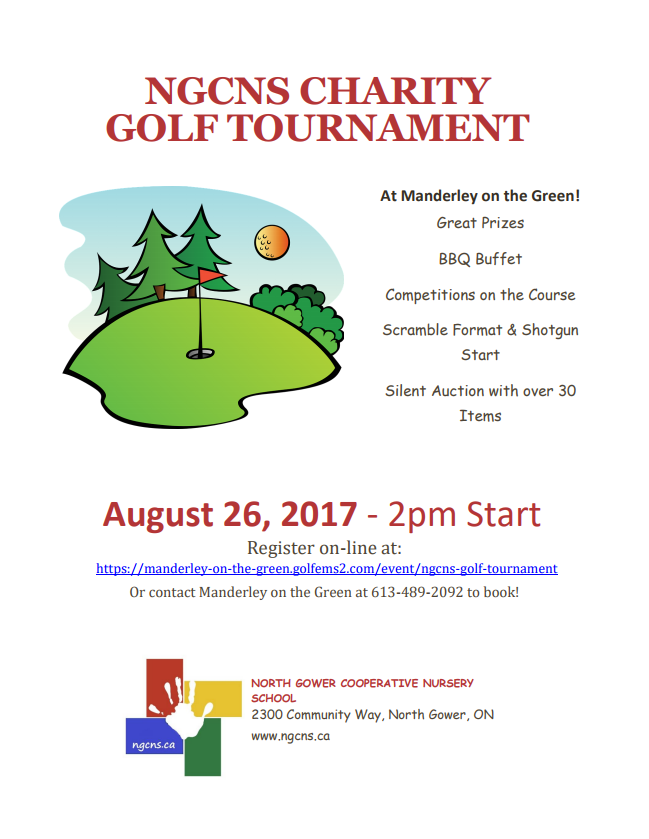 ngcns golf tournament — manderley on the green