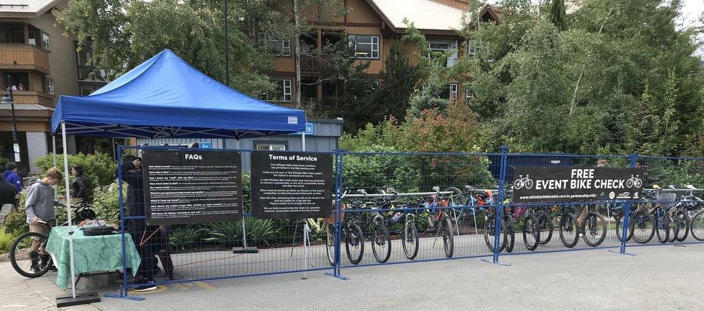 Whistler Bike Valet at The Whistler Farmers' Market