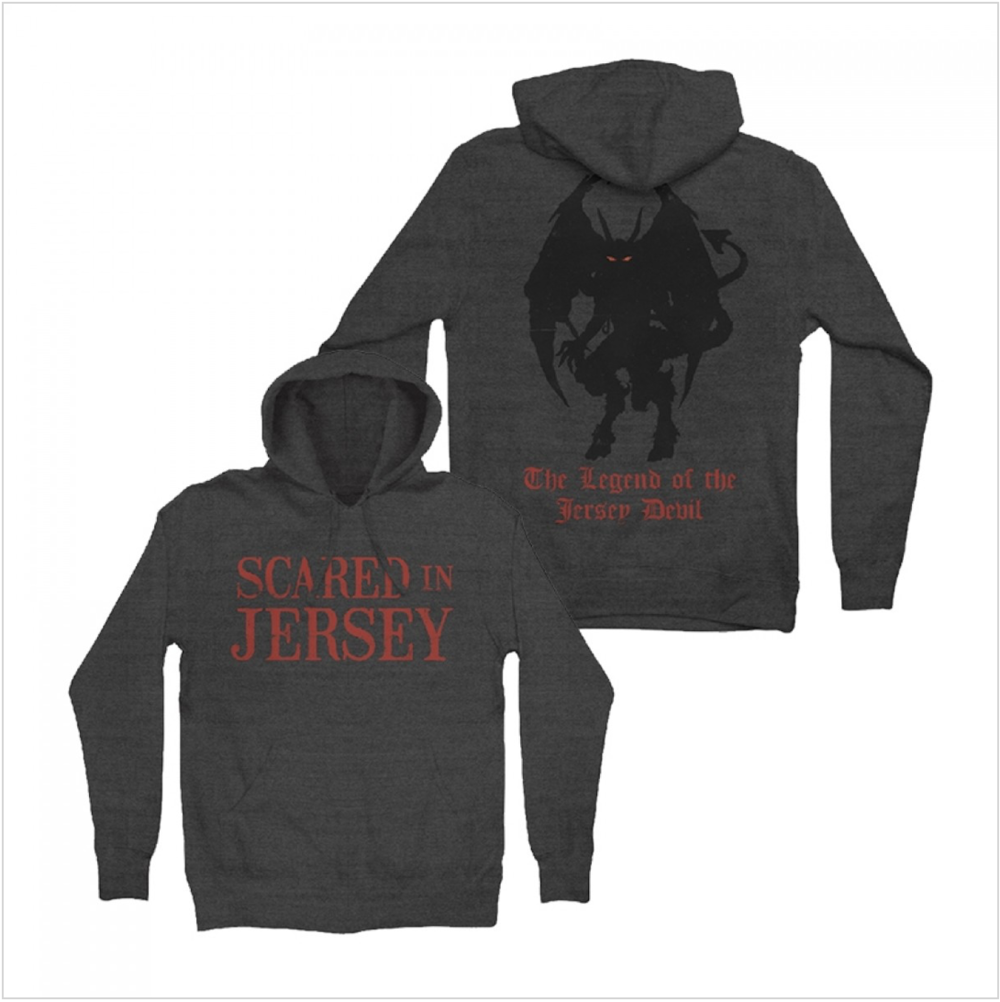 Devil Legend Charcoal Hoodie $50.00