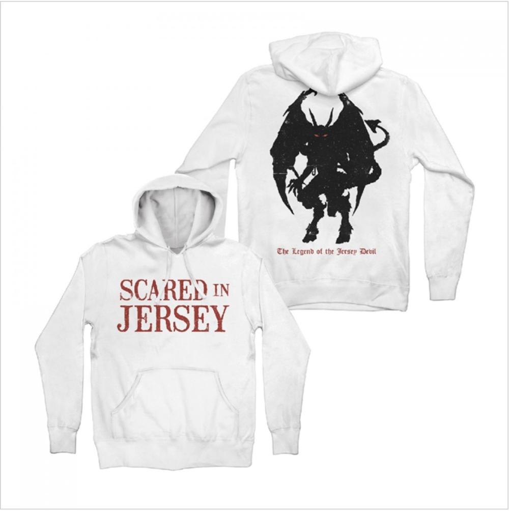 Devil Legend White Hoodie $50.00