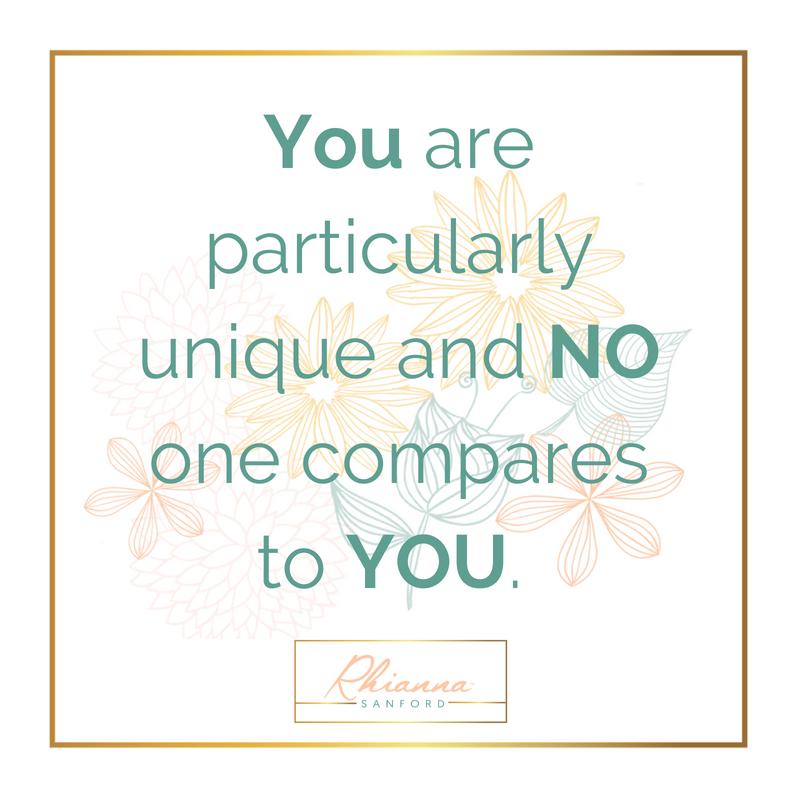 no one can do you like YOU! -