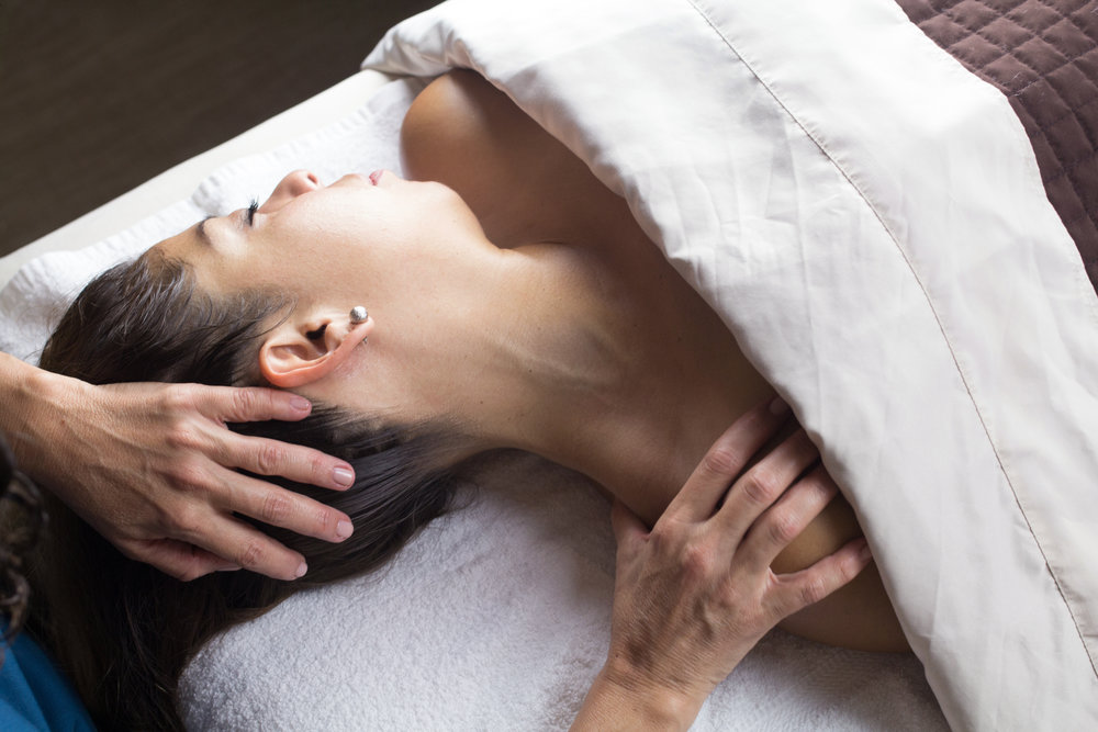 ADVANCED MASSAGE$79| 60 min.$99 | 75 min. $119 | 90 min. A therapeutic deep tissue massage focusing on releasing chronic muscle tension through the use of elbows, forearms, and knuckles. Deep tissue massage can be beneficial for those experiencing low back pain, stiff neck, sore shoulders, limited mobility, and repetitive strain.While the movement is slow and the pressure is firm, it is important to breathe deeply during this Advanced Massage to encourage the release of tension, restore movement, and create balance and symmetry in the body. -