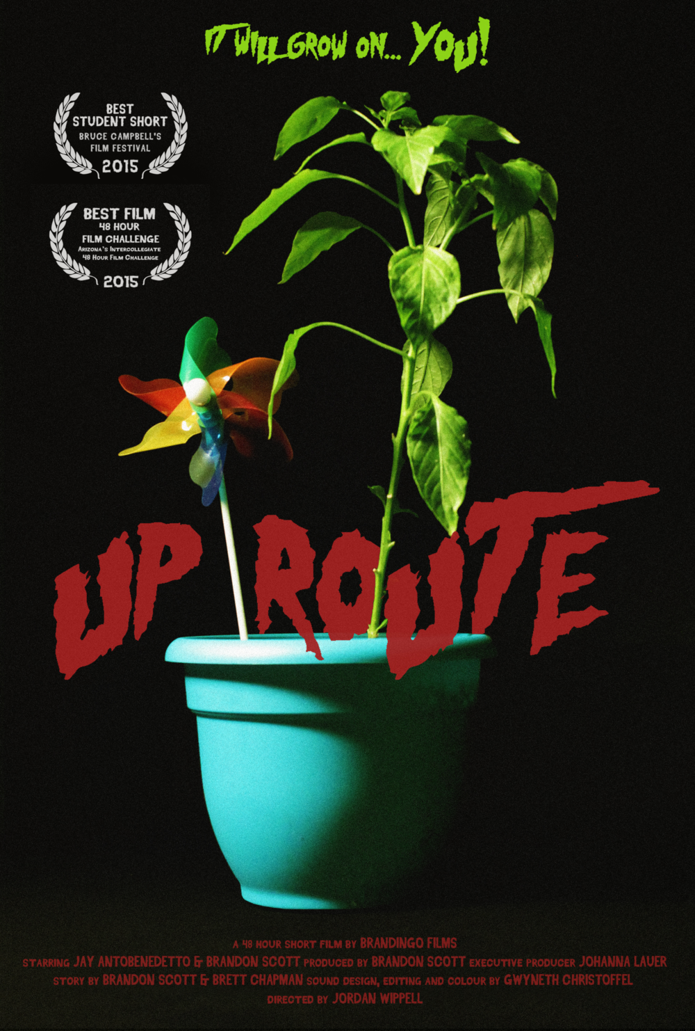 UP ROUTE (2015) - Written, filmed and edited for a 48-hour film challenge,
