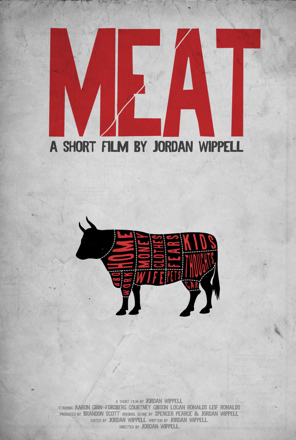 MEAT (2015) - Influenced by the art of Barbara Kruger, noise rock and films like America Psycho and Little Children, MEAT is a winner of the Arizona Film Wars