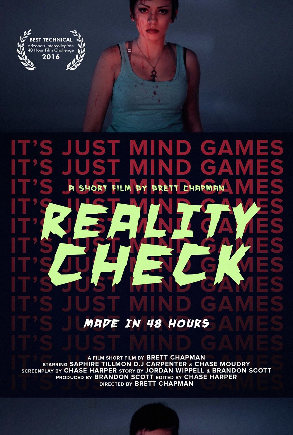 Reality Check (2015) - A 48-hour film challenge short, this took home