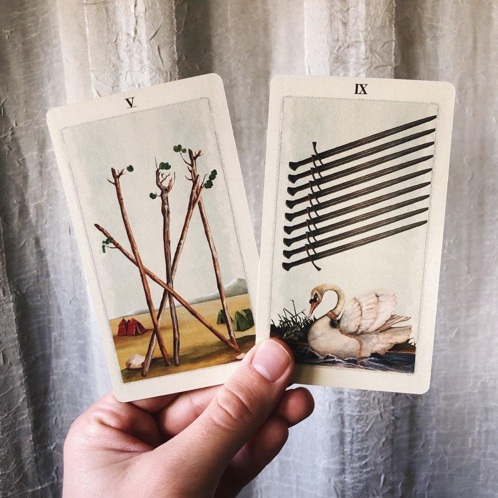 Mirror and Medicine Tarot December 2018