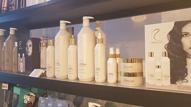 We are stocked & ready with your favorite @redavidhair products including their holiday packs! #redavid #lovehair #shorthair #longhair #careproducts #local #holidaypacks #hairinspo
