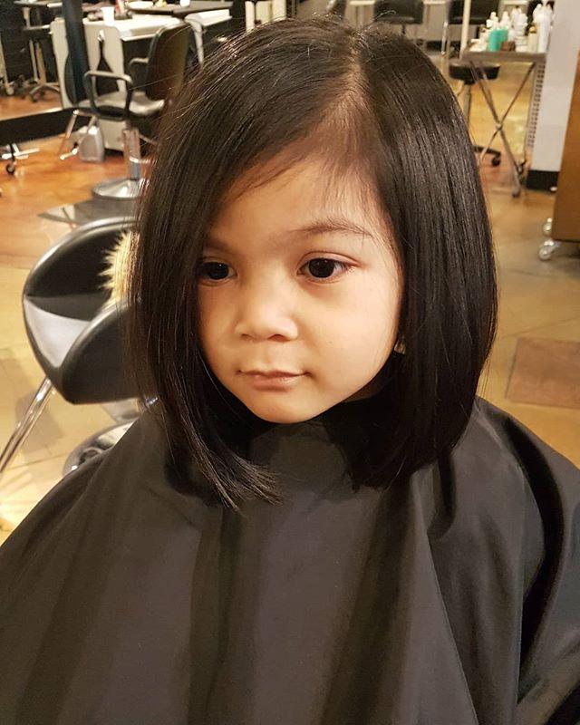 Oh my goodness!! . . Cut & styled by Brooke  #vancouver #hairinspo #kidscut #inspo #bob #lob #shorthair