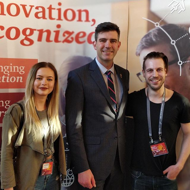 We had a great time at the #v2r event put on by PwC in #yeg. We enjoyed catching up with @runwithmyrna, @testfirelabs and @bounceboxyeg. Also, big thanks to @doniveson for this great photo! @yegmayoroffice