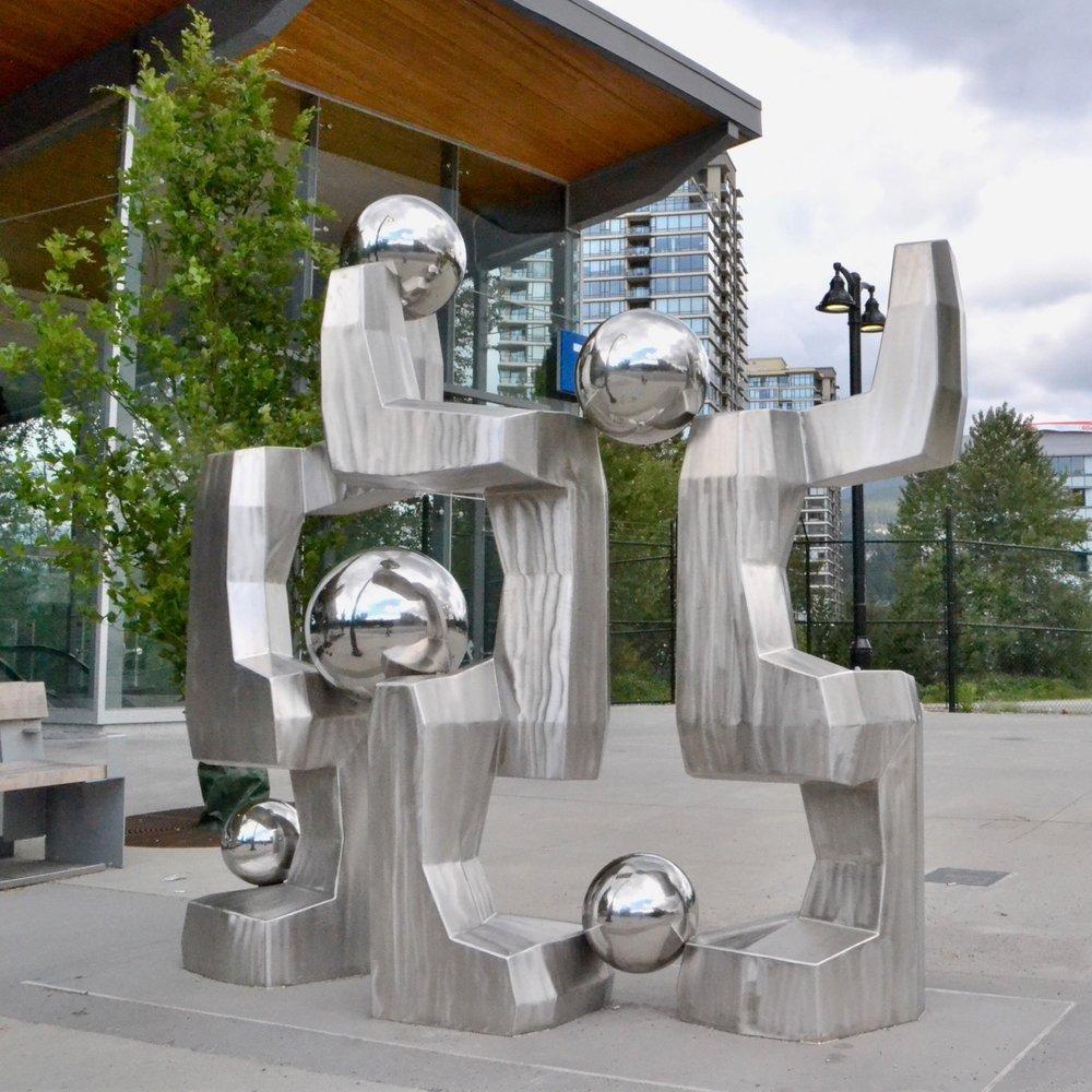 Evergreen People Sculpture
