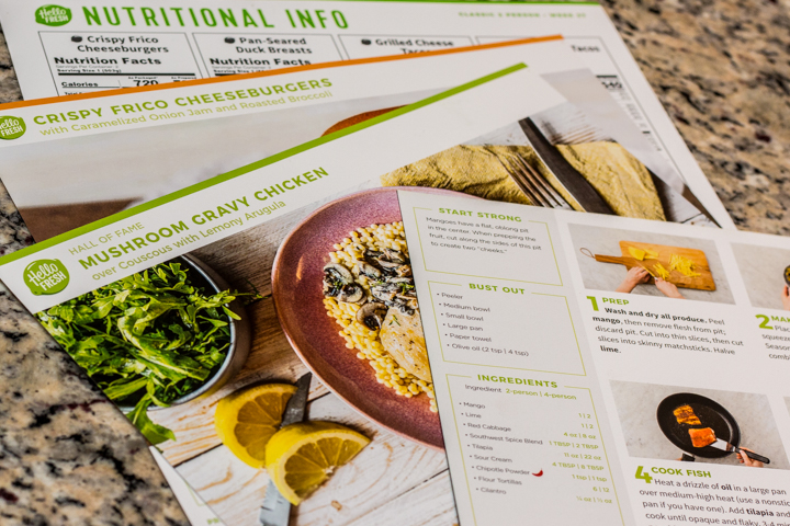 Hellofresh unboxing review foxieheart hellofresh recipe cards forumfinder Images