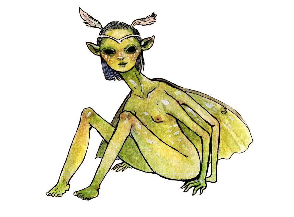 Luna Moth Princess