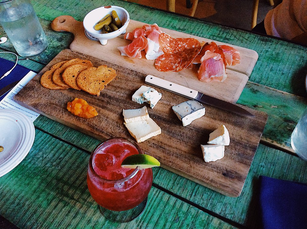 A meat and cheese tray at Capri. Photo by Jodee Molina.
