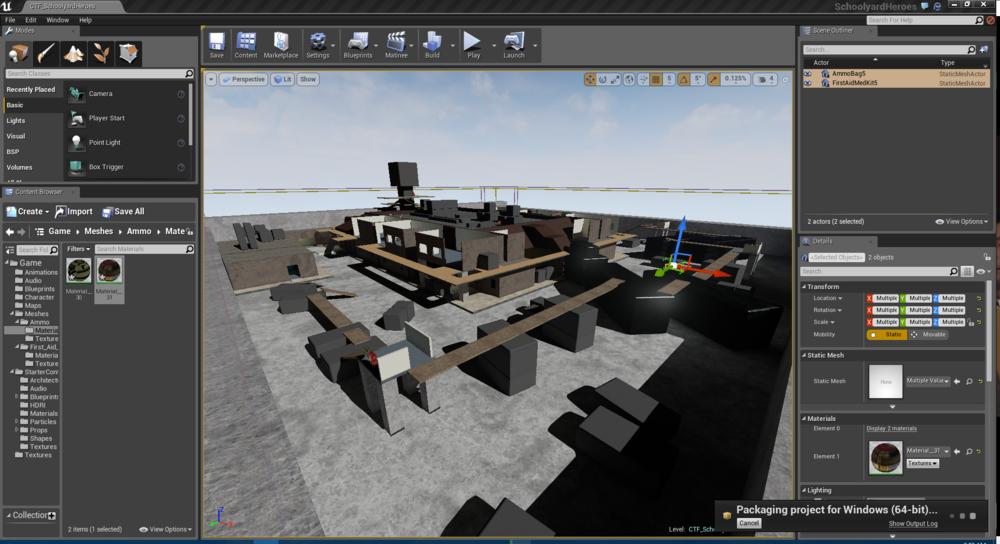 Unreal Engine 4 - Level  Blockout