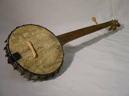 Slave made banjo
