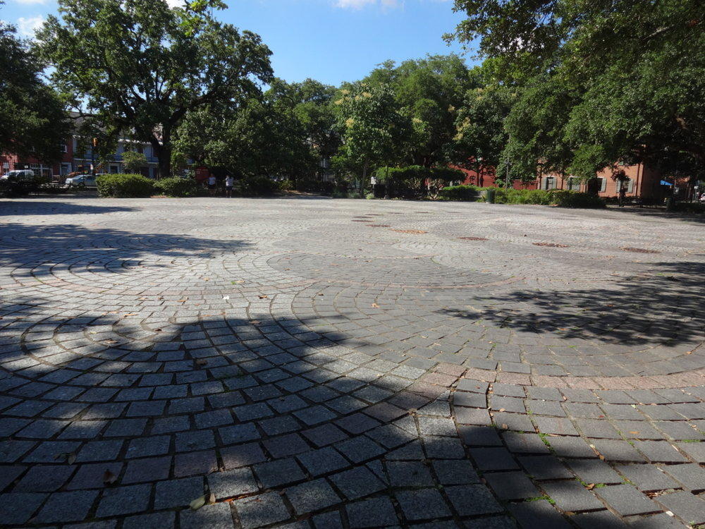 Picture I took in May of 2018, the entrance into Congo Square