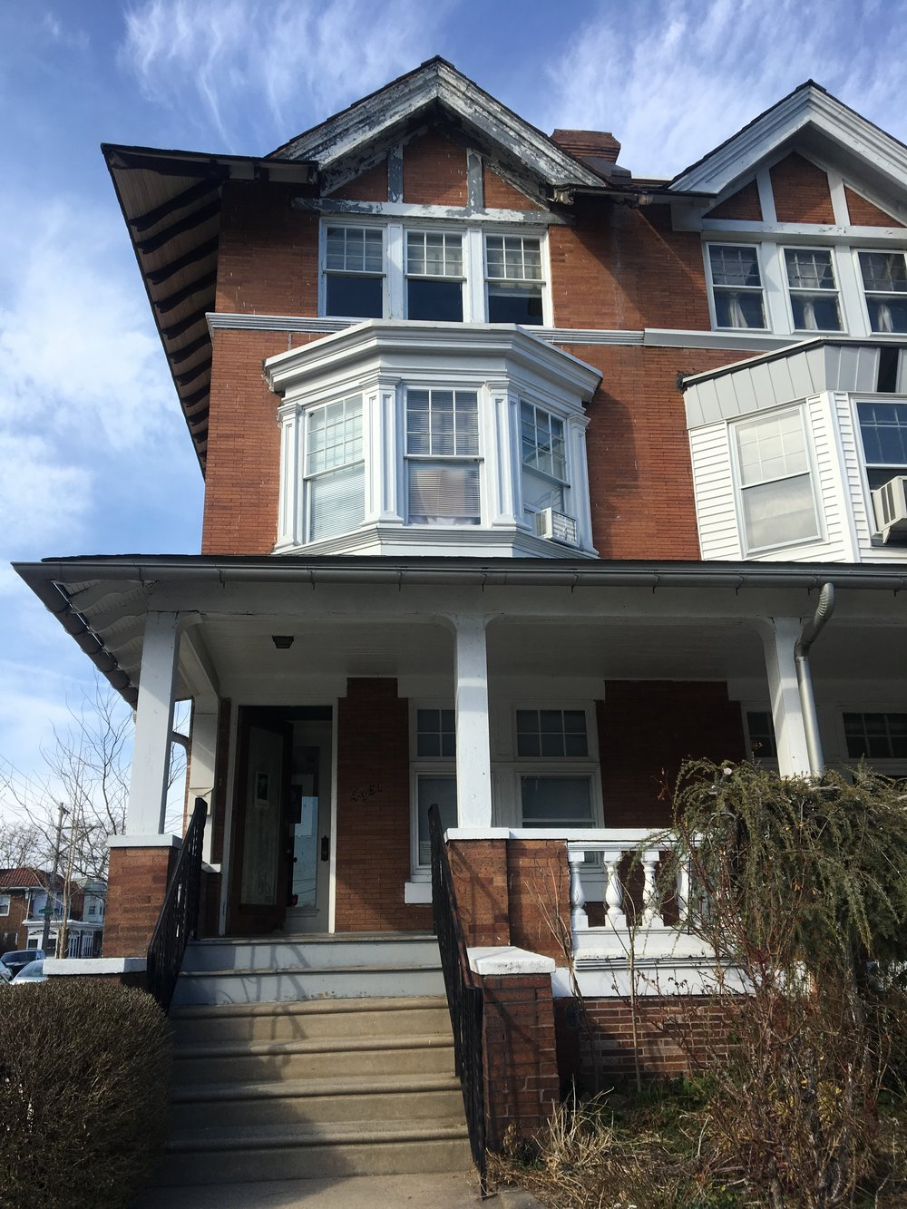Photos of Paul Robesons house from my visit to Philidelphia March 2019