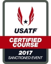 2017 USATF Certified Course Sanctioned Event Logo