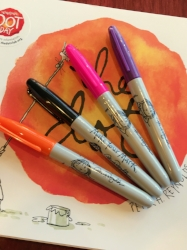 Make Your Mark Sharpies in 4 colors
