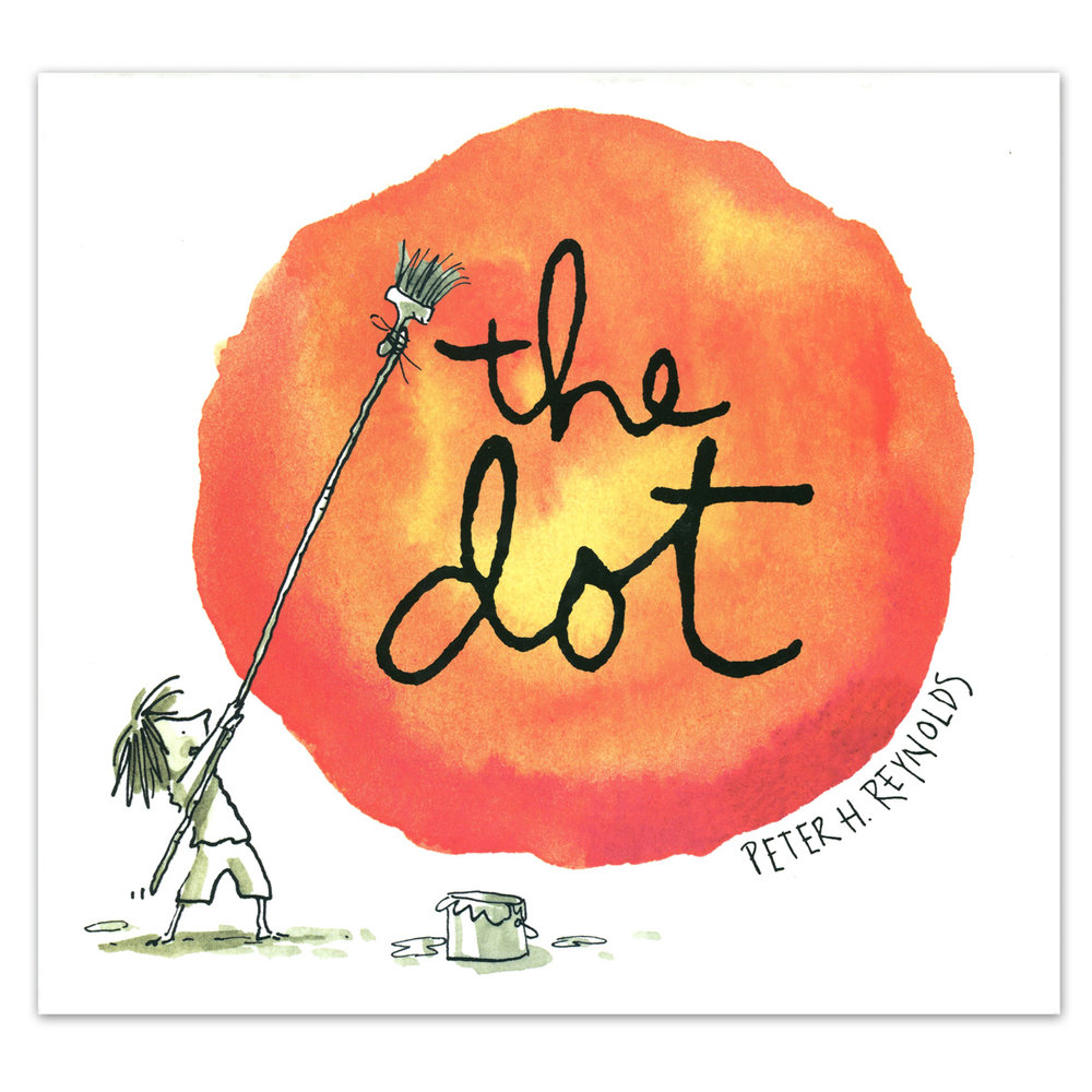 THE BOOK THAT INSPIRED A GLOBAL PHENOMENON - INTERNATIONAL DOT DAY! -