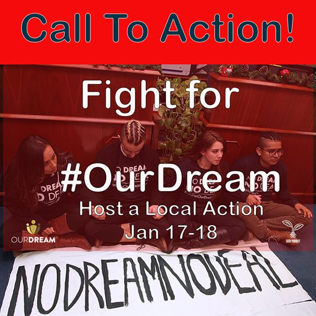 Register today to organize an action in your city in a week of decentralized local actions to show our power and that we will not settle for temporary solutions anymore. We need dignity, we need respect, we need #PermanentProtection. —Register today link on the bio ✊🏻✊🏻👆🏼👆🏼 -- -- #dreamers are tired of temporary solutions it is time for #permanentprotection