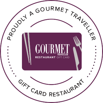 We are now Accepting Gourmet Traveller Gift Cards