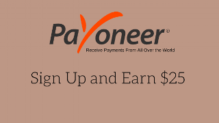 Sign up with Payoneer