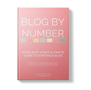 Blog By Number Ebook from Start A Mom Blog