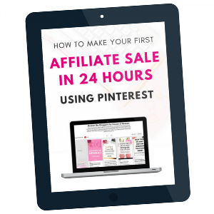 Affiliate Sale in 24 Hours using Pinterest