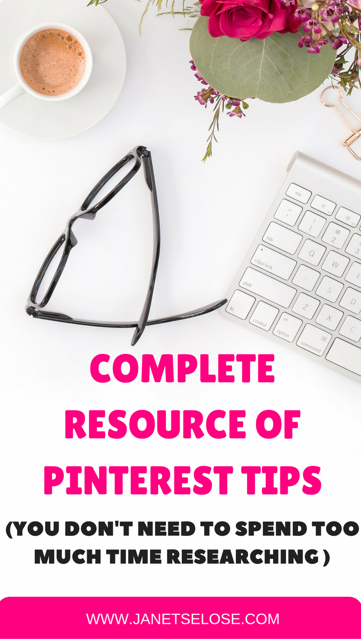 I have compiled all the resources you need on getting started with Pinterest. This is very helpful for bloggers, business owners and anyone who wants to be a Pinterest VA! No need to waste your time researching!