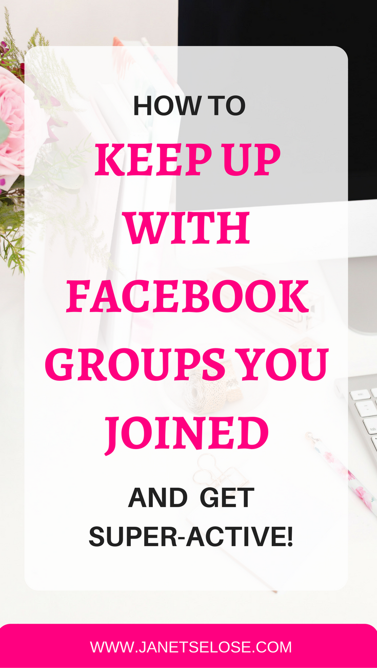Are you distracted by so many FB groups you joined but you are never active? Follow this step-by-step tutorial on how to discuss, plan and collaborate on all your fb groups without being distracted. Keep up with the FB groups you joined!