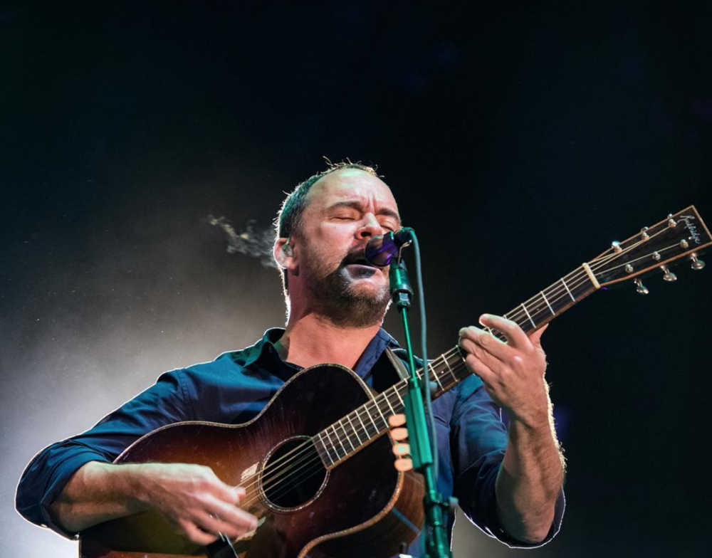 Dave Matthews played alongside Tim Reynolds on 11/9/2017 IG: @phalperin