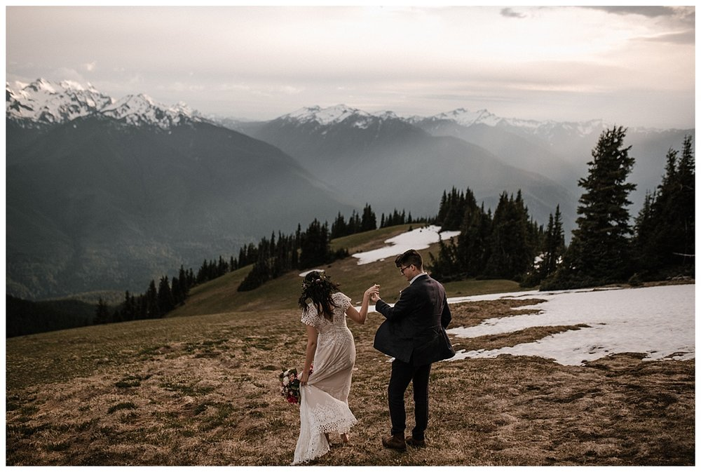 Sarah + Zach - Hurricane Ridge
