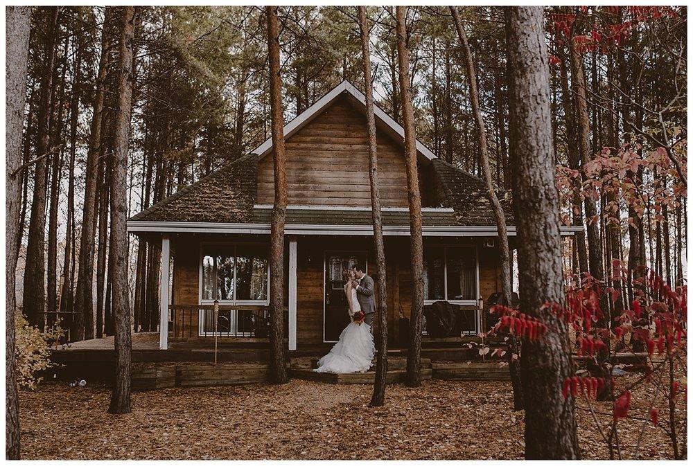 Fall Cabin Wedding - Ashgrove Acres