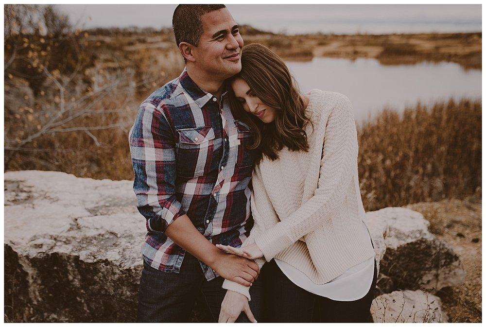 ALLY + DAVID - Engaged