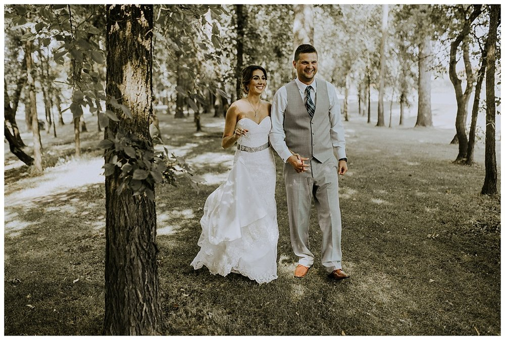 Rustic Charm Wedding - Bridges Golf Course