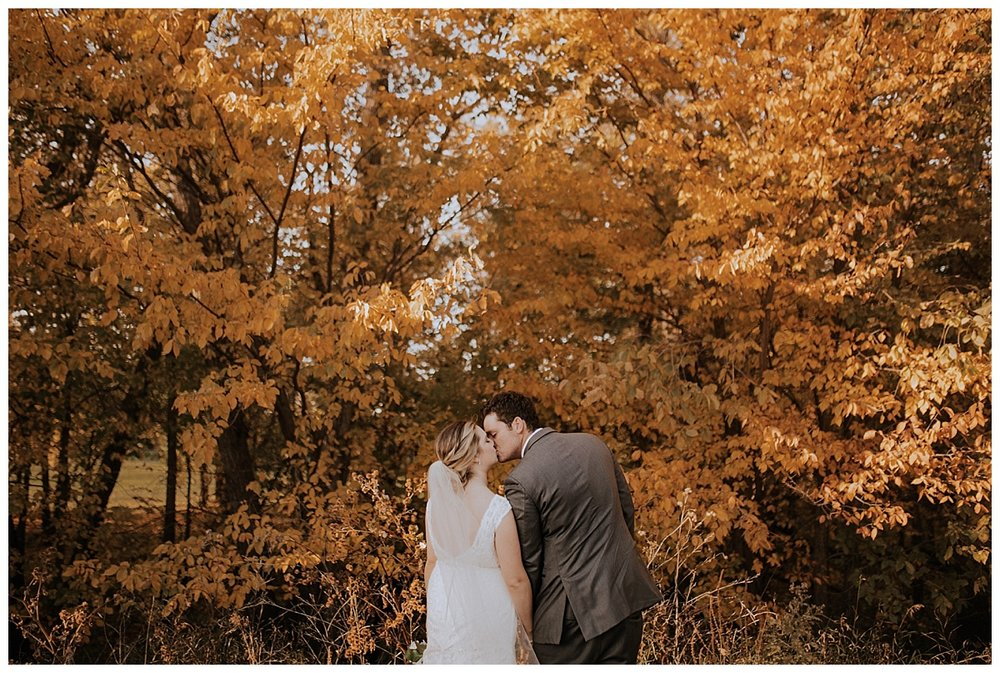 Michele + Chris - Rustic Autumn Wedding