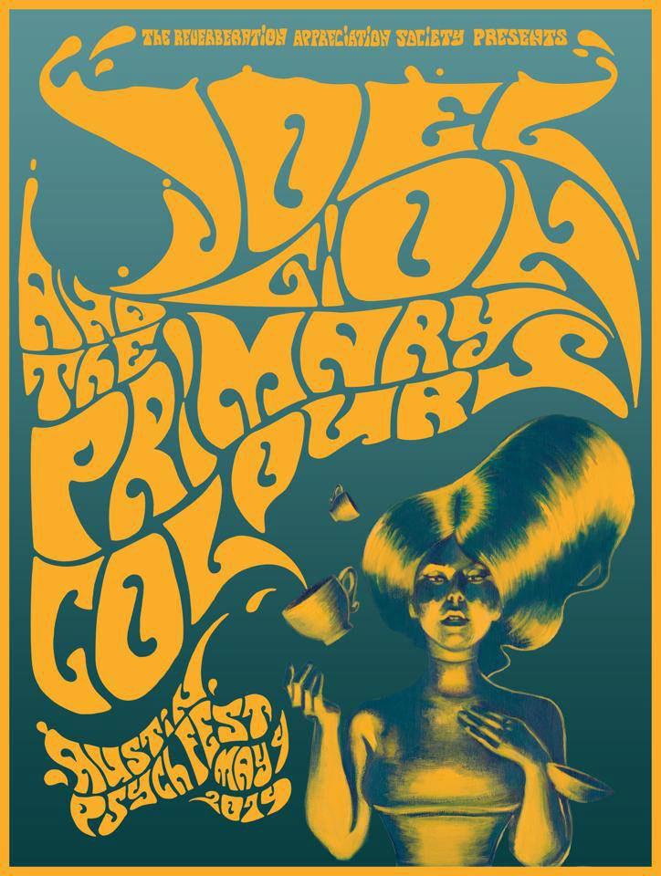 Poster for Austin Psych Fest