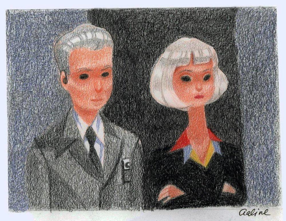 Diane and Gordon, Twin Peaks Series