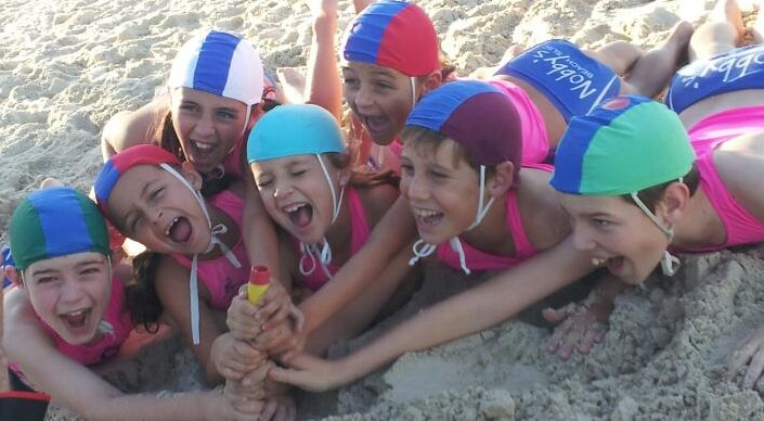 Nippers at Nobby's Beach SLSC