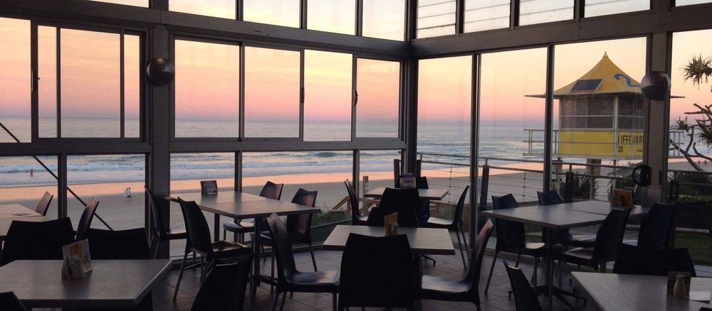 View at Nobby's Beach SLSC