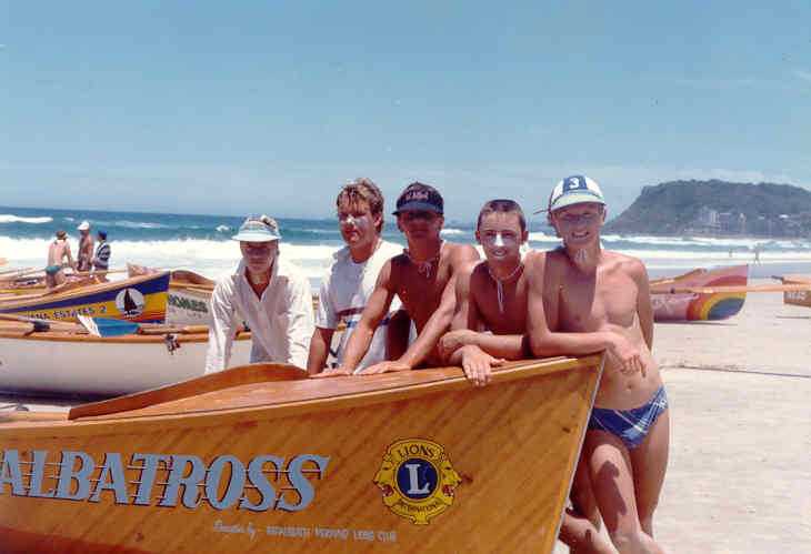 Nobby's Beach SLSC Junior Boat Crew