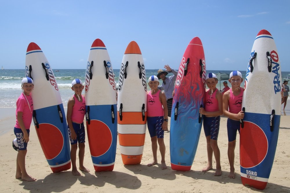 Nippers - Nippers is a key area at Nobby's Beach SLSC ensuring that our kids are provided the education, skills and abilities to be confident in the surf and be able to utilise this knowledge to their advantage when in the water.