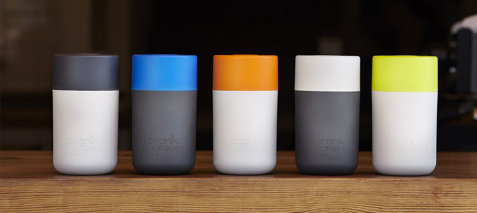 Frank Green Reusable Coffee Cups