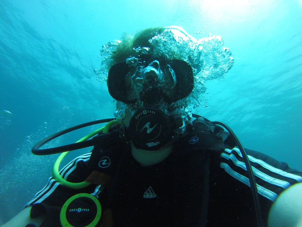 Scuba Diving - I love exploring and enjoying the beauty the underwater world offers us. When I began college I wanted to be a marine biologist. I realized I enjoyed observing nature and not studying it not too long after I started classes. I started scuba diving when I was 14 years old. Since then I have dived 60+ times, became a Rescue Diver, and have dove to depths of 140 feet.