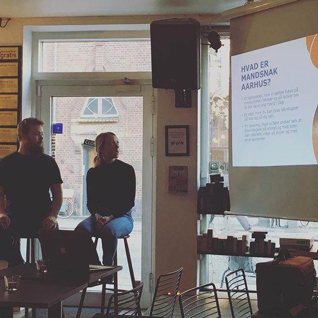 Tak til alle der kom til vores lancering af MandSnak Aarhus! #aarhus #mænd #køn #fællesskab #frivillighed